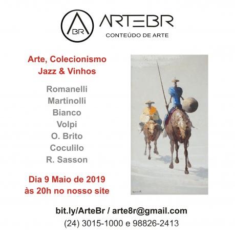ArteBR - Arte / Colecionismo / Jazz / Vinhos