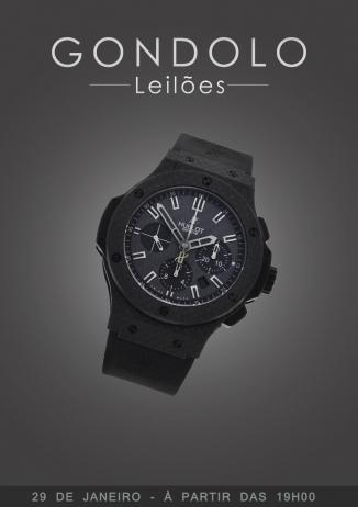 Leilão Gondolo - Relógios e Canetas - Janeiro 2019
