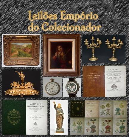 2º LEILÃO DE COLECIONISMO, ARTE E ANTIGUIDADES