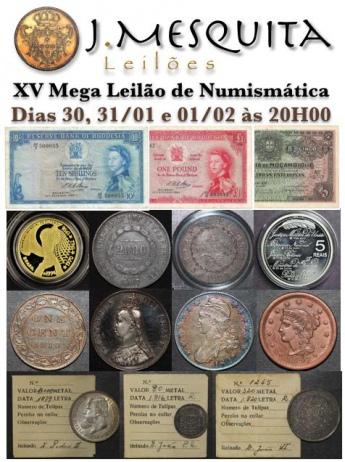 XV Mega Leilão Especial de Numismática