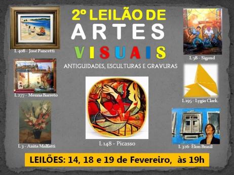 2º LEILÃO DE  ARTES VISUAIS