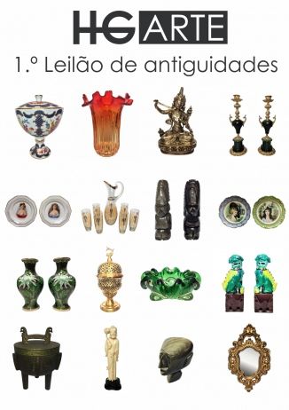 HG ARTE - 1º LEILÃO DE ARTE E ANTIGUIDADES