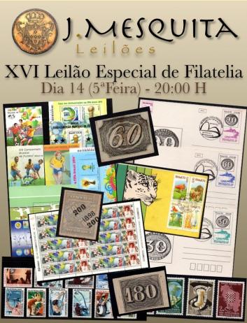 XVI Leilão Especial de Filatelia