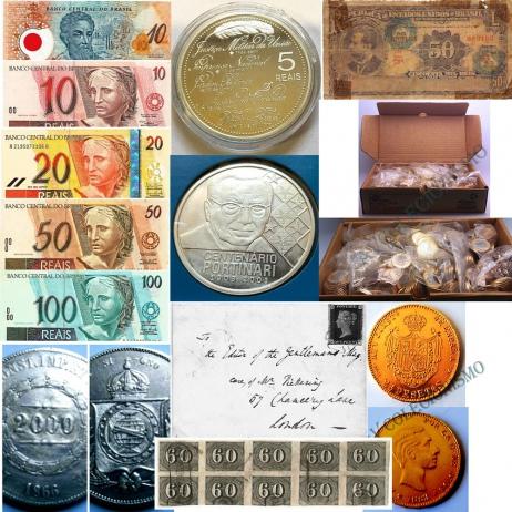 16º Leilão de Filatelia - Numismática - Outros -  AV COLECIONISMO
