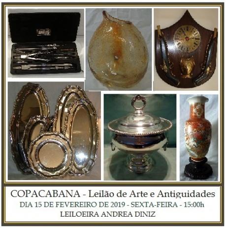 COPACABANA - LEILÃO DE ARTE E ANTIGUIDADES