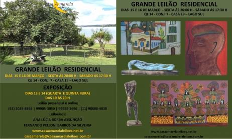 LEILÃO RESIDENCIAL EM BRASÍLIA