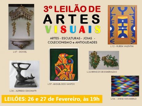 3º LEILÃO DE ARTES VISUAIS
