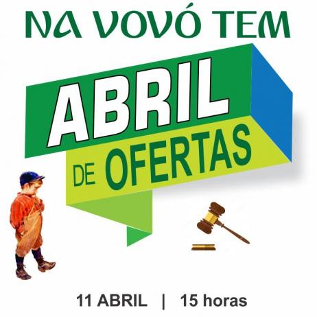NA VOVO TEM - LEILÃO ABRIL DE OFERTAS - CATALOGO 11119 - 11/04/2019