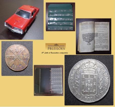 57º Leilão de Numismática e antiguidades Pbleilões