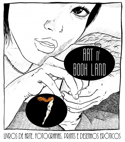 Art n Book Land 7 - leilão residencial - livros de arte, fotografias, prints e desenhos eróticos
