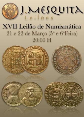 XVII Leilão Especial de Numismática