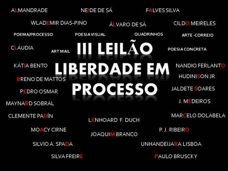 3º LEILÃO LIBERDADE EM PROCESSO- POEMA/ PROCESSO - ARTE POSTAL - POESIA VISUAL - PERIÓDICOS & OUTROS