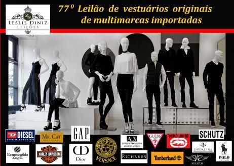 79º LEILÃO DE VESTUÁRIOS ORIGINAIS DE MULTIMARCAS IMPORTADAS NO RECREIO