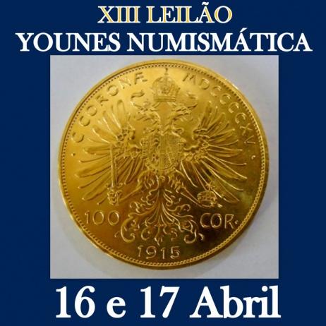 XIII LEILÃO YOUNES NUMISMÁTICA