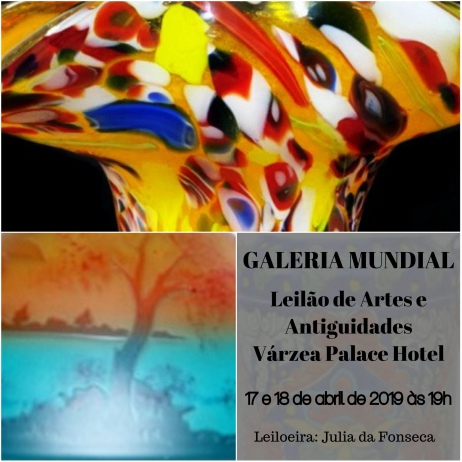 Leilão de Artes e Antiguidades no Várzea Palace Hotel