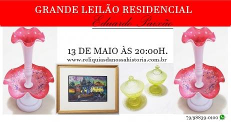 LEILÃO DE JÓIAS, ARTE & ANTIGUIDADES