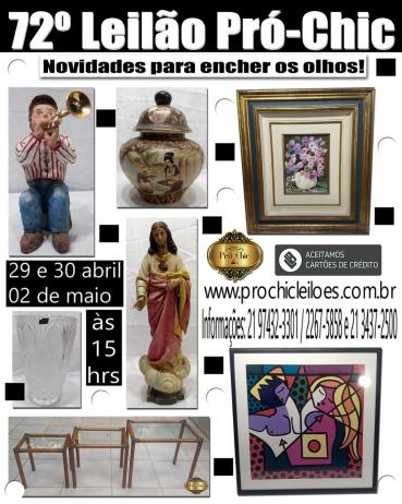 72º  LEILÃO PRO CHIC - Novidades para encher os olhos!