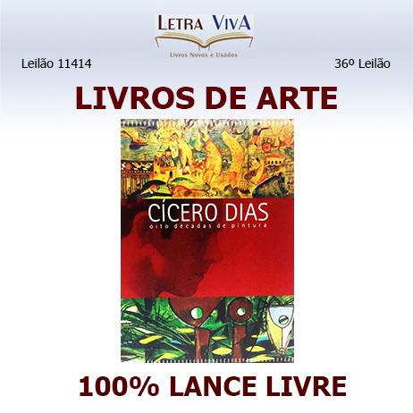 LEILÃO DE LIVROS DE ARTES