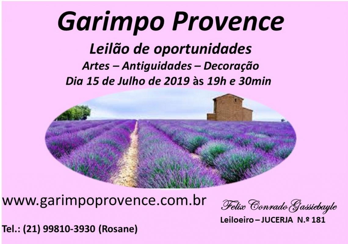 LEILÃO GARIMPO PROVENCE