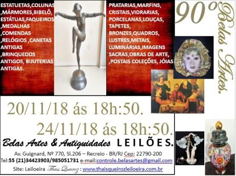 89º Leilão Belas artes e antiguidades