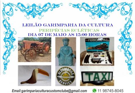 LEILÃO PERIPÉCIAS ECLÉTICAS - Antiguidades e Colecionismo