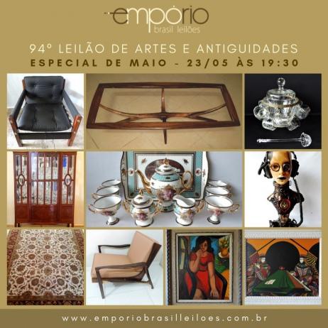 94º Leilão de Artes & Antiguidades - Especial de Maio!!!