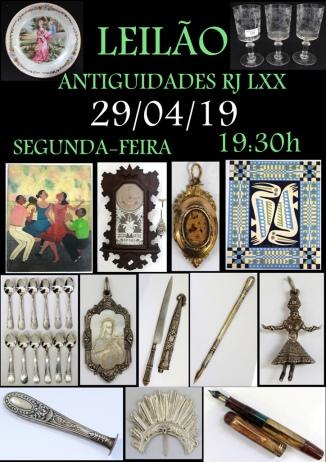 LEILÃO ANTIGUIDADES RJ LXX