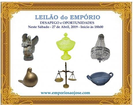 LEILÃO DESAPEGO do EMPÓRIO