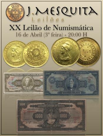 XX Leilão Especial de Numismática