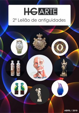 HG ARTE - 2º LEILÃO DE ARTE E ANTIGUIDADES