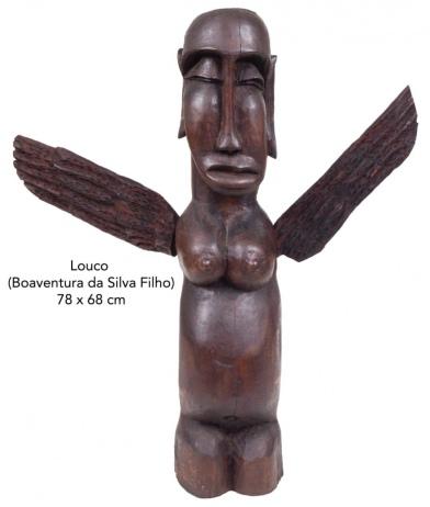 ACERVO RESIDENCIAL / 2a Parte - Esculturas LOUCO (B.S.F), Naif, Mestre Vitalino,Mobiliario, Obj Arte