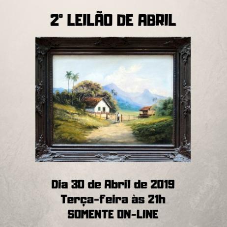 2º LEILÃO DE ABRIL