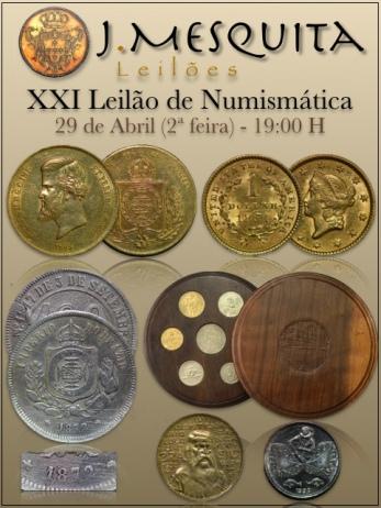 XXI Leilão Especial de Numismática