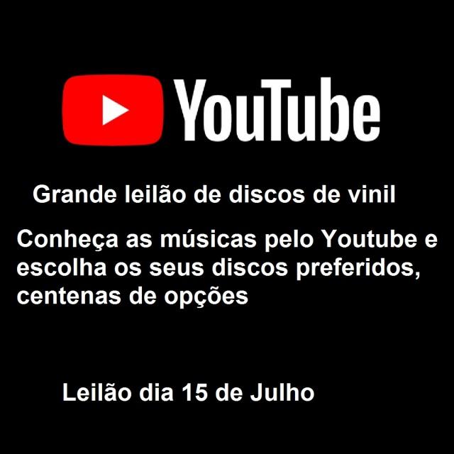 GRANDE LEILÃO DE DISCOS DE VINIL