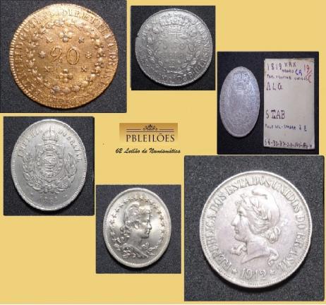 62º Leilão de Numismática PBleilões