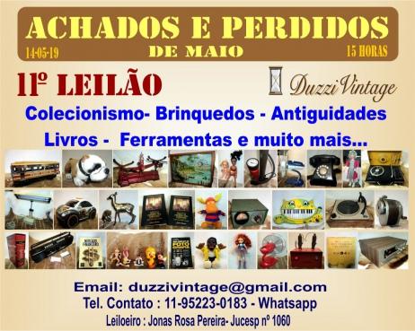11º Leilão DuzziVintage- ACHADOS E PERDIDOS- Colecionismo-Brinquedos-Antiguidades, Livros, ...