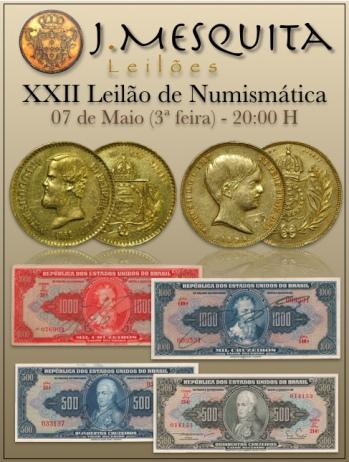 XXII Leilão Especial de Numismática