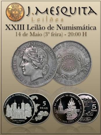 XXIII Leilão Especial de Numismática