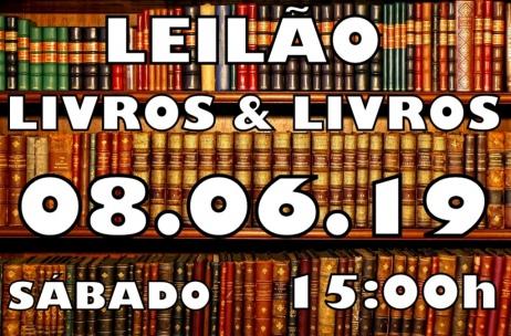 LEILÃO LIVROS & LIVROS
