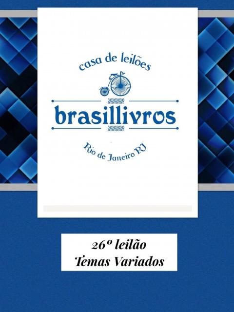 26º LEILÃO DE LIVROS - TEMAS VARIADOS