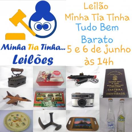 LEILÃO MINHA TIA TINHA: TUDO MUITO BARATO
