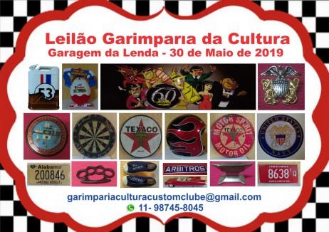 LEILÃO GARAGEM DA LENDA