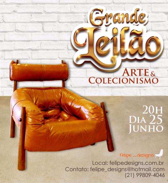 FELIPE DESIGNS LEILÃO DE ARTE E ANTIGUIDADES
