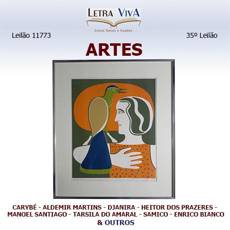 35º LEILÃO LETRA VIVA - ARTES