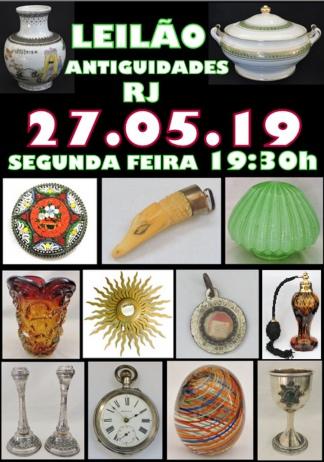 LEILÃO ANTIGUIDADES RJ