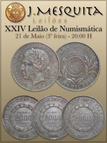 XXIV Leilão Especial de Numismática