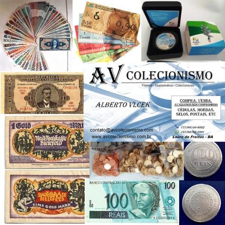19º Leilão de Filatelia - Numismática -  AV COLECIONISMO