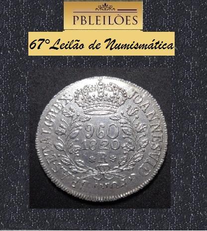 67º Leilão de Numismática PBleilões