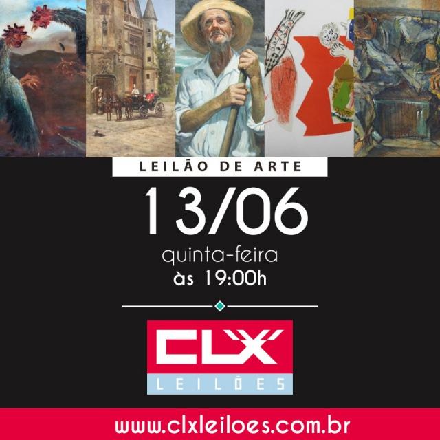 CLX - LEILÃO DE OBRAS DE ARTE - 13/JUN/2019