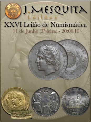 XXVI Leilão J.Mesquita -  Especial de Numismática